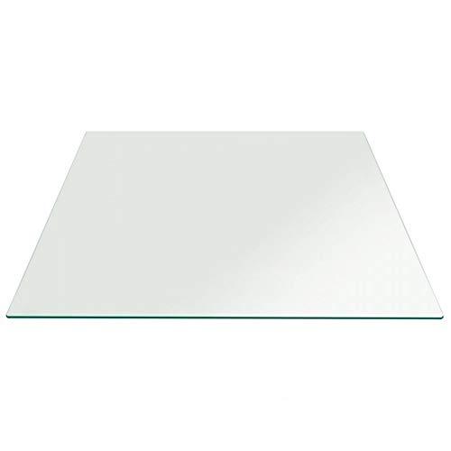 Balder - Tablero para Tapa de Mesa de Cristal Templado de 6 mm - FABRICACION A Medida - para Proteger mesas de Comedor, mesas de Jardin, mesas de Oficina. ✅