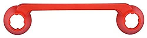 MZWNQ Protección de balancín de Control Remoto para Hubson Soporte para Hubsan Zino H117S Drone RC Accesorios Controlador Joystick Protector(Color:Rojo)
