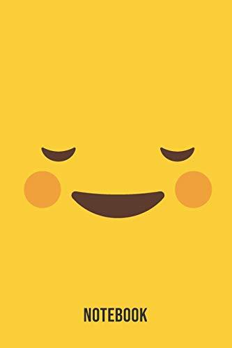 Notebook: Flirty Blush Emoji Emoticons Notebook,: Emoticons Notebook For Kids, social media emoticons Journal, Emoticon Face Themed Birthday, Emoji ... Emoji Stuff, 120 Pages, 6x9, Matte Cover.