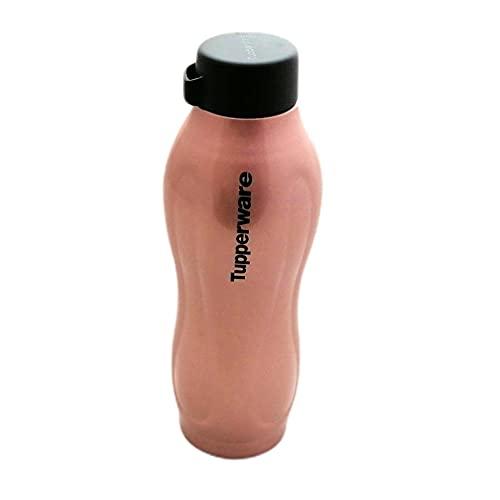 Tupperware Botella isotérmica Fashion Flask de 550 ml, de metal, color dorado y rosa