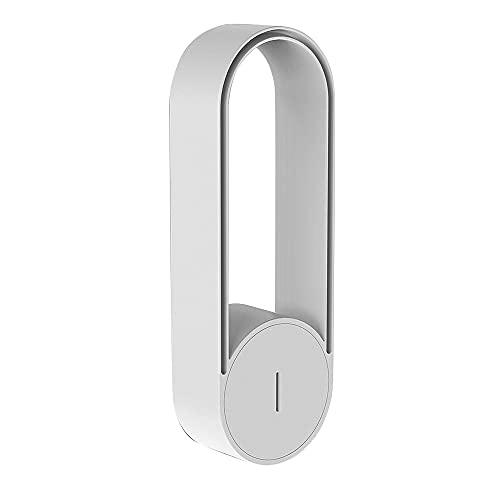 Varadyle Purificador de Iones Negativos de 20 Millones Ionizador DoméStico PortáTil Purificador de Aire de Coche Enchufable USB para el áRea 31㎡-40㎡ Blanco