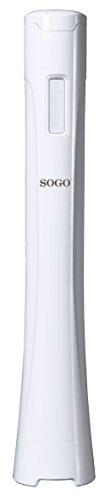 Sogo Deluxe Batidora de mano, 300 W, Plástico, Blanco