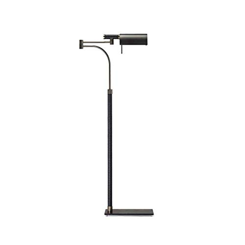 LKK-KK Floor Lamp,Postmodern Iron Floor Lamp Bedroom Living Room Personality E27 Black Floor Lamp 145x56cm-Design Fixture Lighting