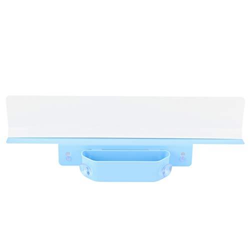 SOONHUA Protector de salpicaduras para fregadero de agua, resistente con ventosa, cesta de almacenamiento para el hogar, baño, cocina