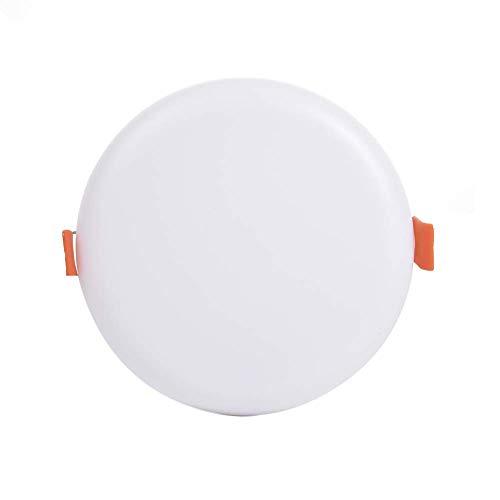 Sararoom LED-inbouwlamp, daglicht LED badinbouwspot 6000 K plafondlamp LED plafondlamp voor slaapkamer, keuken, balkon, gang, kantoor, woonkamer