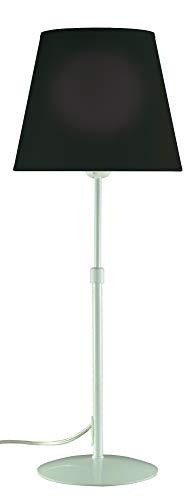 Aluminor STORE LT B N staande lamp, wit + lampenkap zwart