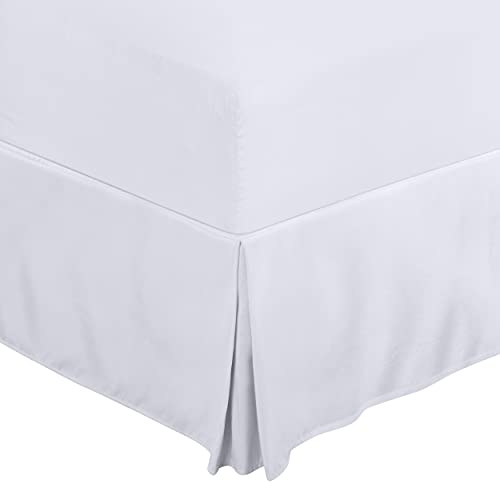 Utopia Bedding Queen Bed Skirt - Soft Quadruple Pleated Ruffle - Easy Fit with 16 Inch Tailored Drop - Hotel Quality, Shrinkage and Fade Resistant...