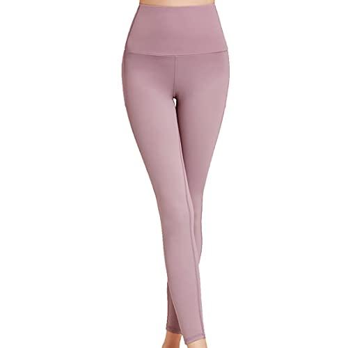 Pantalones de yoga con bolsillos para mujer de entrenamiento de cintura alta control de abdomen de trabajo mujeres Leggings deportivos de cintura alta con control de abdomen de gimnasio para correr