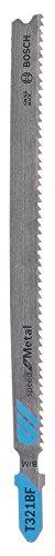 Bosch Professional Stichsägeblatt T 321 BF, Speed für Metal, 5-er Pack, 2608636707