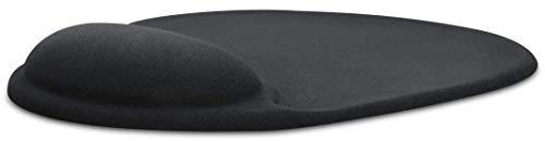 Speedlink VELLU Gel Mousepad - Mauspad mit Gelfüllung für Büro, Home Office und Gaming - schwarz