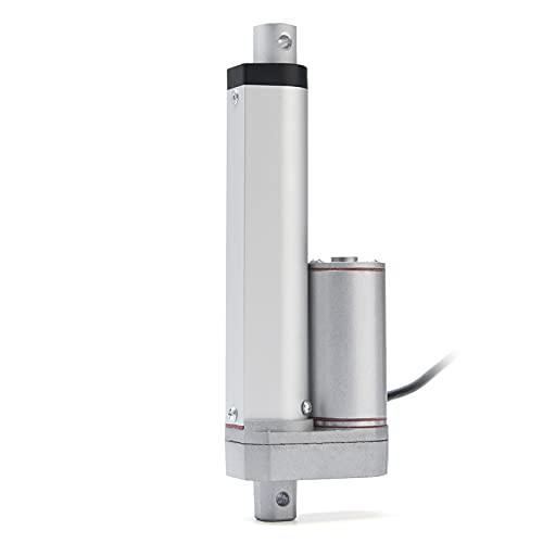 Sankuai 1pc 1200n 12v 9mm / s 2-20 Pulgadas Aleación de Aluminio Actuador Lineal Corriente Continua Barra de Empuje eléctrica para Self eléctrico Unicycle Scooter de Voltaje de Entrada
