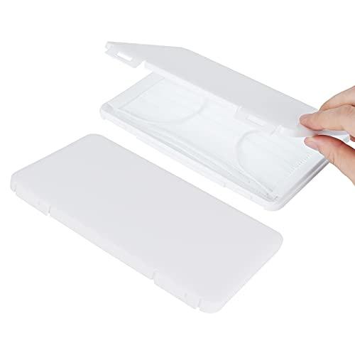 【マスクケース】マスク入れ 収納ケース 携帯用マスクケース 収納ケース マスク入れケース 便利 小物収納 衛生 軽量 ホワイト