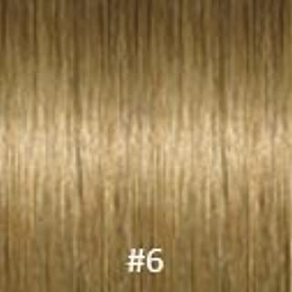 Virgin I-Tip Indian Jackson Curly Hair,#12 Light Golden Brown,32 Inch