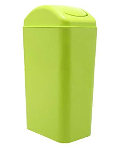 cubo con tapa basculante de la marca Trash Can