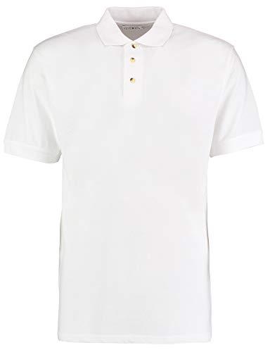 KUSTOM KIT - Polo - - Manches courtes Homme - Blanc - Blanc - Large