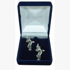 Cadeau de Cricket-Bouton de manchette en étain pour joueur de Cricket/mariage/Best Man/Usher