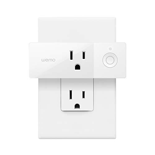 Wemo Mini enchufe inteligente compatible con Alexa, Google Assistant y Apple HomeKit, paquete de 5 (reacondicionado certificado)
