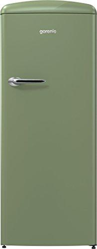 Gorenje ORB 153 OL Stand Kühlschrank Olive Grün Gefrierfach Kühlgerät Standgerät Retro