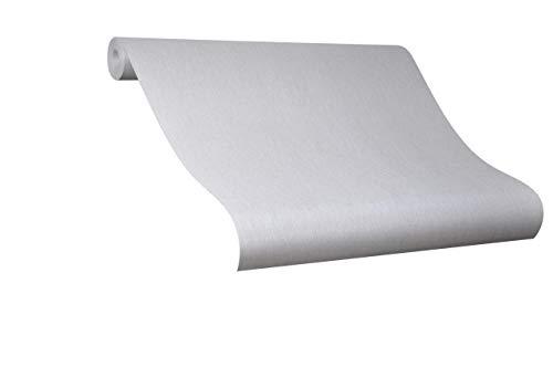 Tapete Grau - Colani Evolution - für Wohnzimmer, Schlafzimmer oder Küche - Made in Germany - 10,05m X 0,70m - Premium Vliestapete - 56345