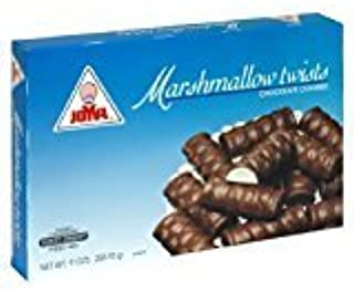 Joya Marshmallow Twists Chocolate Covered KFP 9 Oz. Pk Of 6.