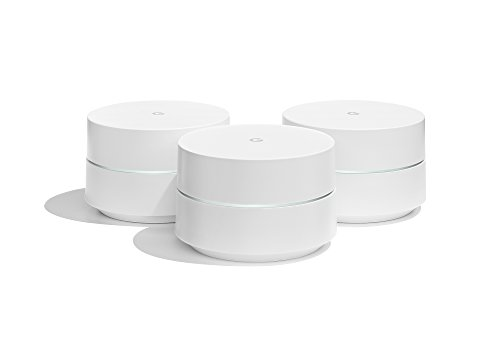 Google WiFi, Router Inalámbrico (3 Pack, Español/Italiano/Portugués), Ethernet,...