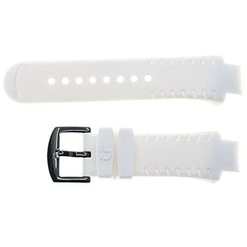 Correa de Silicona Color Blanco Compatible con Time Force TF-4151M