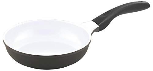 Steuber Culinario 051558 Bratpfanne ø 20 cm mit Induktionsboden, grau/weiß