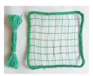 野球 補修用ネット 30×30cm 1枚 太さ440dT/90本 日本製 糸・編み針付