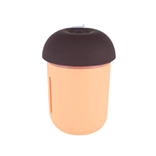 Libilaa Ultrasone Cool Mist luchtbevochtiger, bevochtigingseenheid met whisper, stille werking en nachtlampfunctie