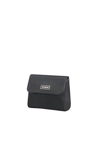 SAMSONITE Karissa Cosmetic Cases - Flip Pouch Trousse de toilette, 17 cm, Noir (Noir)