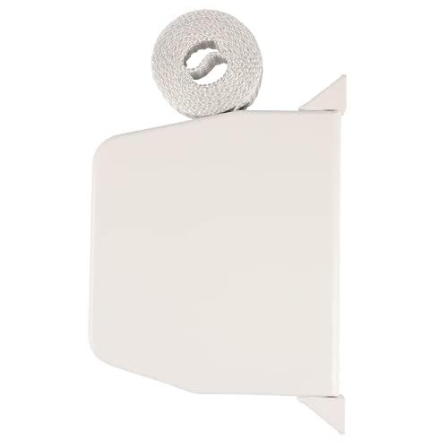Rolladen Gurtwickler Aufputz schwenkbar inkl. Abdeckkappen und Gurtband 14mm Gurtbreite für Rollladen [418]