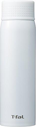 ティファール 水筒 500ml 直飲み ステンレスマグボトル クリーンマグ 軽量タイプ Ag+抗菌仕様 ミルキーホワイト