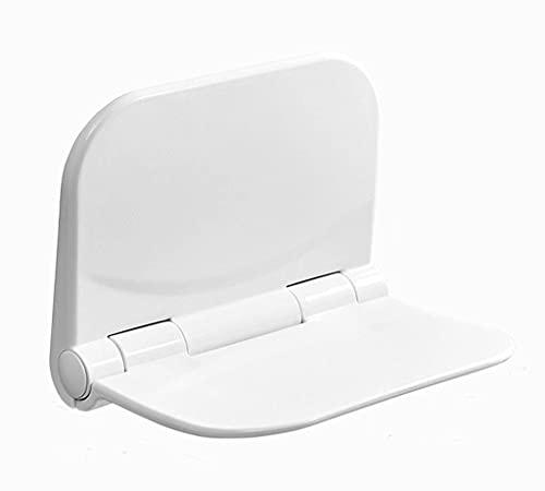 BAIHAO Moderne wandmontierte Duschsitze mit Rückenlehne, rutschfeste Duschhocker für Senioren und ältere Menschen, leicht und einfach, Nicht verformt