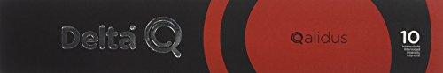Delta Q - Qalidus Cápsulas de Café - Intensidad Alta - 10 Cápsulas