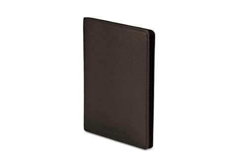 モレスキン リネージ レザー パスポート財布 ウッドノートブラウン
