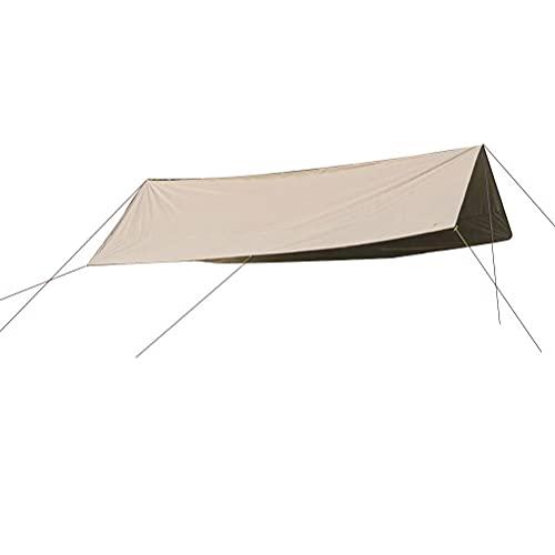 Holmeey Tienda de campaña impermeable, grande impermeable y ligero avión de tela Oxford, tienda de campaña de playa, tienda de campaña de protección UV para camping, viajes