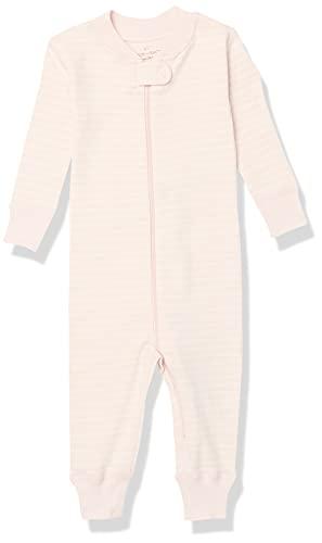 Moon and Back by Hanna Andersson Pyjama sans pied en coton bio pour tout-petits, bébés, rose, 2 ans (82-87 CM)