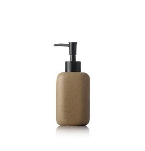 zj Xgmsd 300Ml Emulsione Ceramica di Erogazione Press Vuoto Bottiglia Home Hotel Shampoo Doccia Gel Wash Bottle, B,A,Taglia Unica