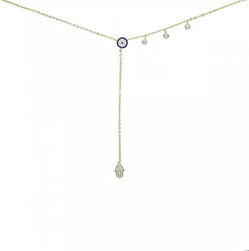 Aluyouqi Co.,ltd Collar Fashion Necklace Pendant Collar Gold Color Eye Pendant Choker...