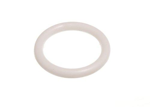 2000 X Vorhang Blinde Polster Ringe 19mm Id weißem Kunststoff