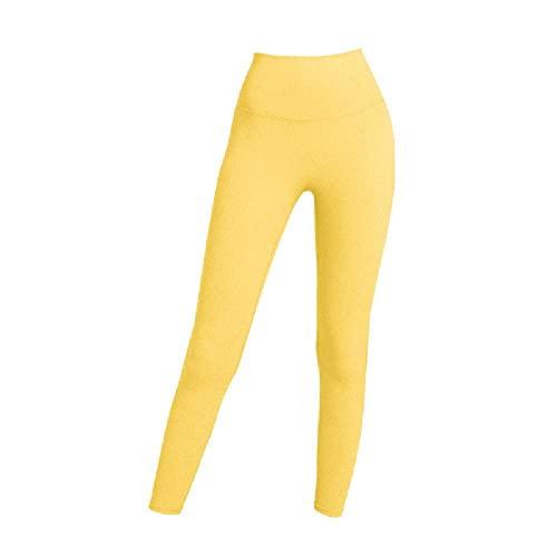N\P Pantalones de yoga de las mujeres Deportes de cintura alta Ropa de
