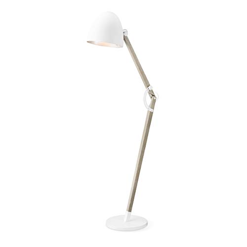 Home sweet home vloerlamp Petto - wit