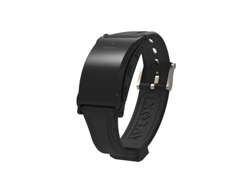 Pavlok 3: A Mindfulness Coach on Your Wrist + Vibrating Silent Alarm + Habit Trainer (Sports Edition) (Black, One Size Fits All)
