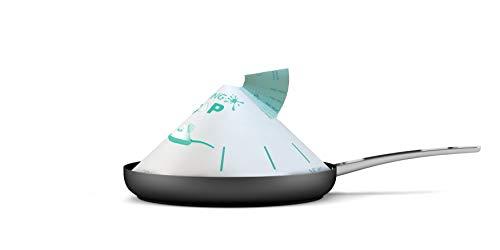 FRYING CAP Grease Splatter Guard - Paper Splatter Screen for Frying Pan (50pcs)