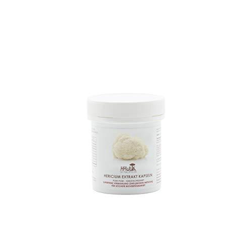 Hawlik Vitalpilze - Hericium Extrakt Kapseln - 60 Stück -30% Polysaccharide - 300mg Extrakt - 40mg Acerola Extrakt - Shellbrokenverfahren