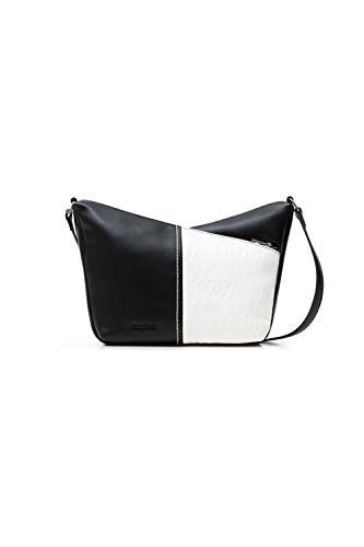 Desigual PU Across Body Bag, Donna, Nero, U
