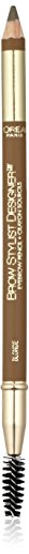 L'Oreal Paris Brow Stylist Designer Brow Pencil, Blonde 305, 0ml, 305 Blonde