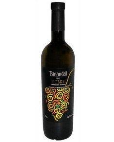 """trockener Weißwein """"Tsinandali"""" 0,75L Wein aus Georgien"""