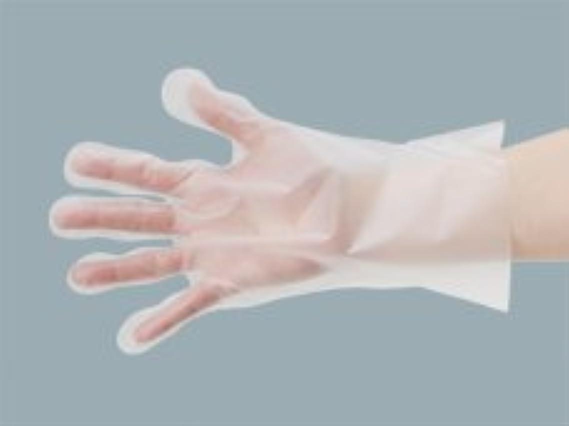 ホステルやろう数学エクセレントポリエチレン手袋L 200枚入 内エンボス