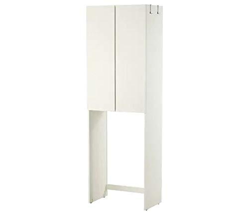Webeingstore Ikea LILLÅNGEN Mobile per Lavatrice, Bianco, 64x38x195 cm